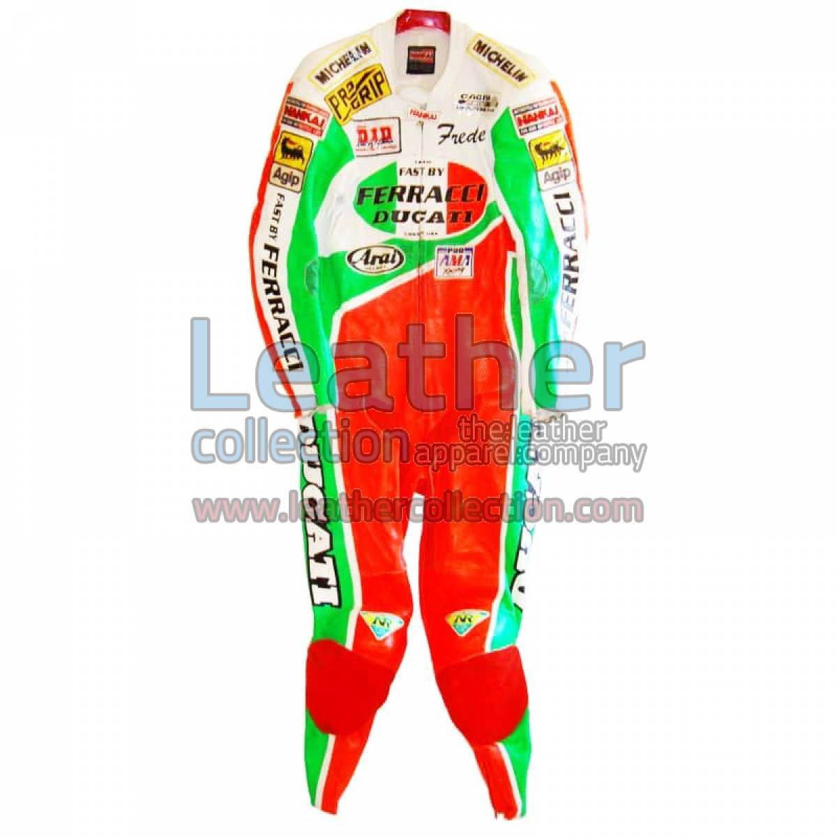 Freddie Spencer Ducati Corse AMA Leathers