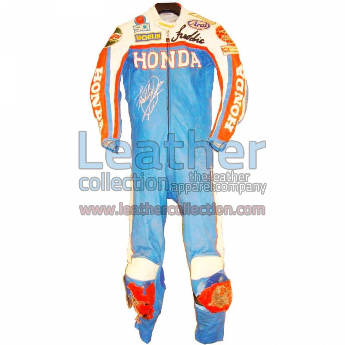 Freddie Spencer Honda GP 1983 Leather Suit