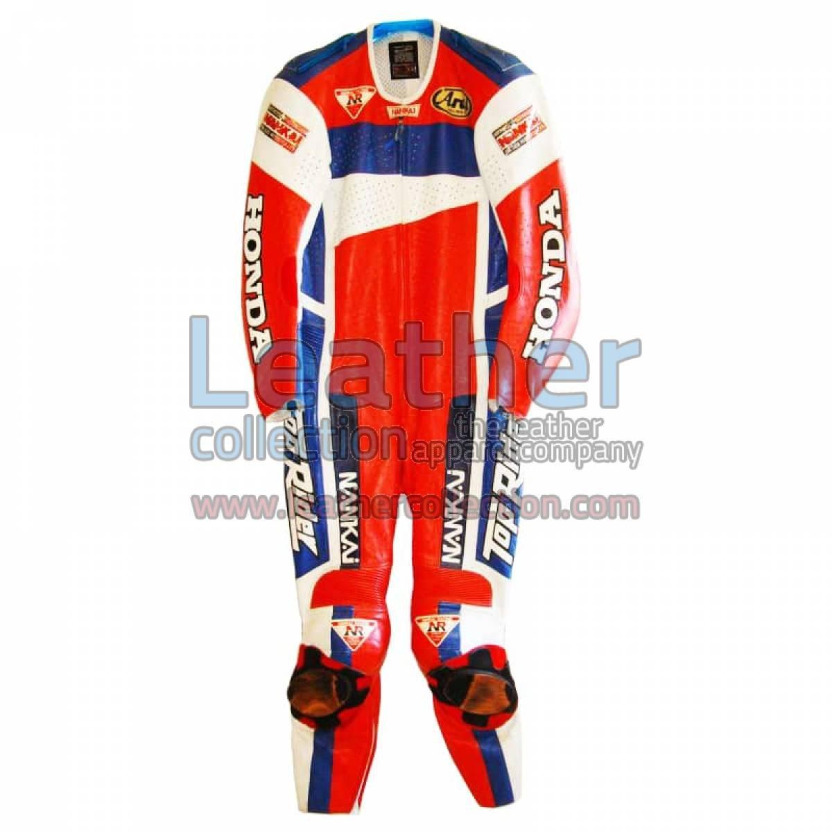 Freddie Spencer Nankai Honda Motorcycle GP 1991 Leathers