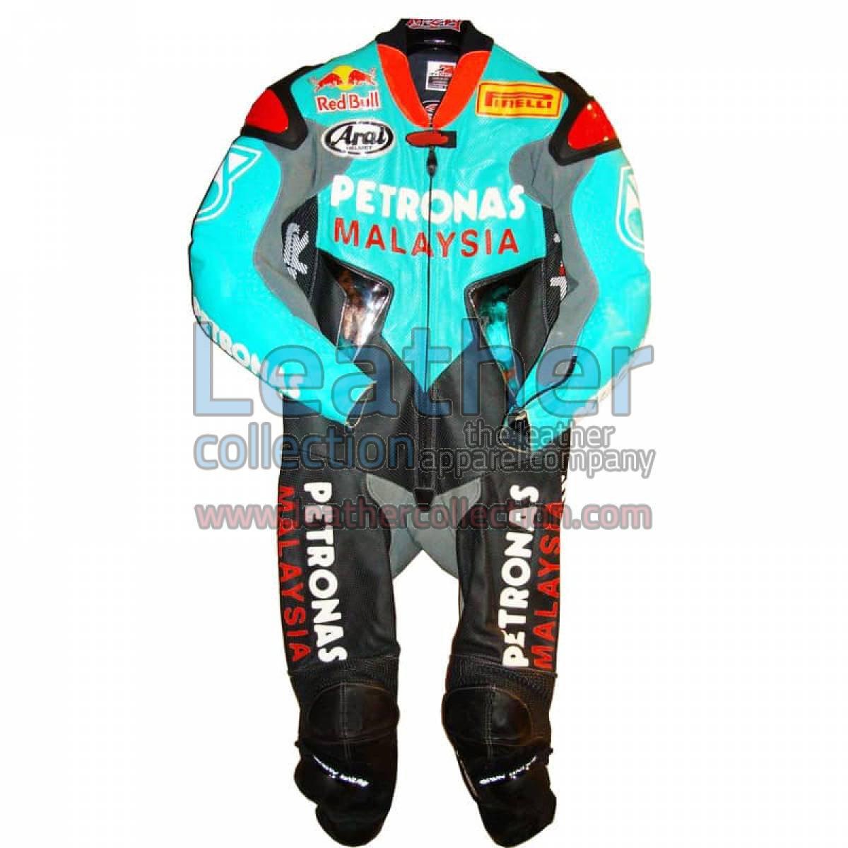 Garry McCoy Replica Petronas GP 2005 Leather Suit