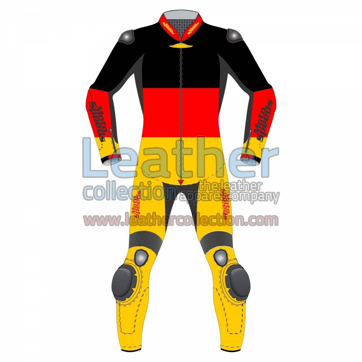 German Flag Motorcycle Racing Suit