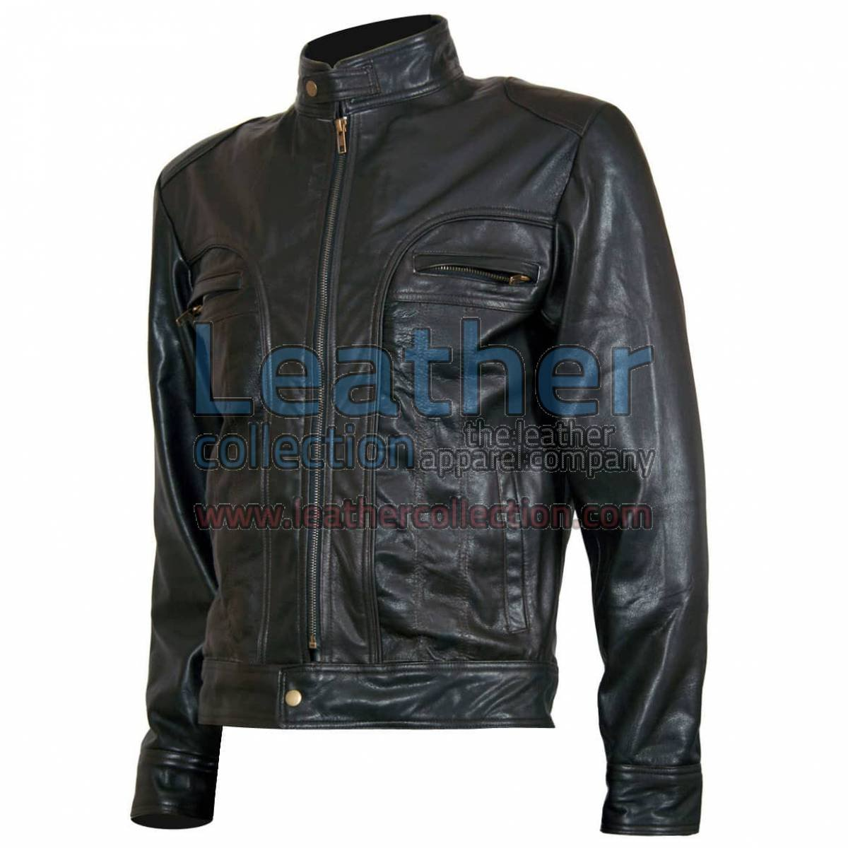 "Ghosts of Girlfriends Past ""Matthew"" Leather Jacket"