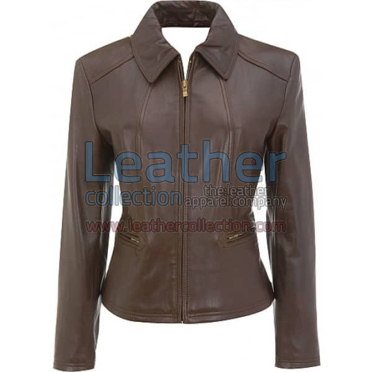 Gorgeous Leather Jacket For Ladies