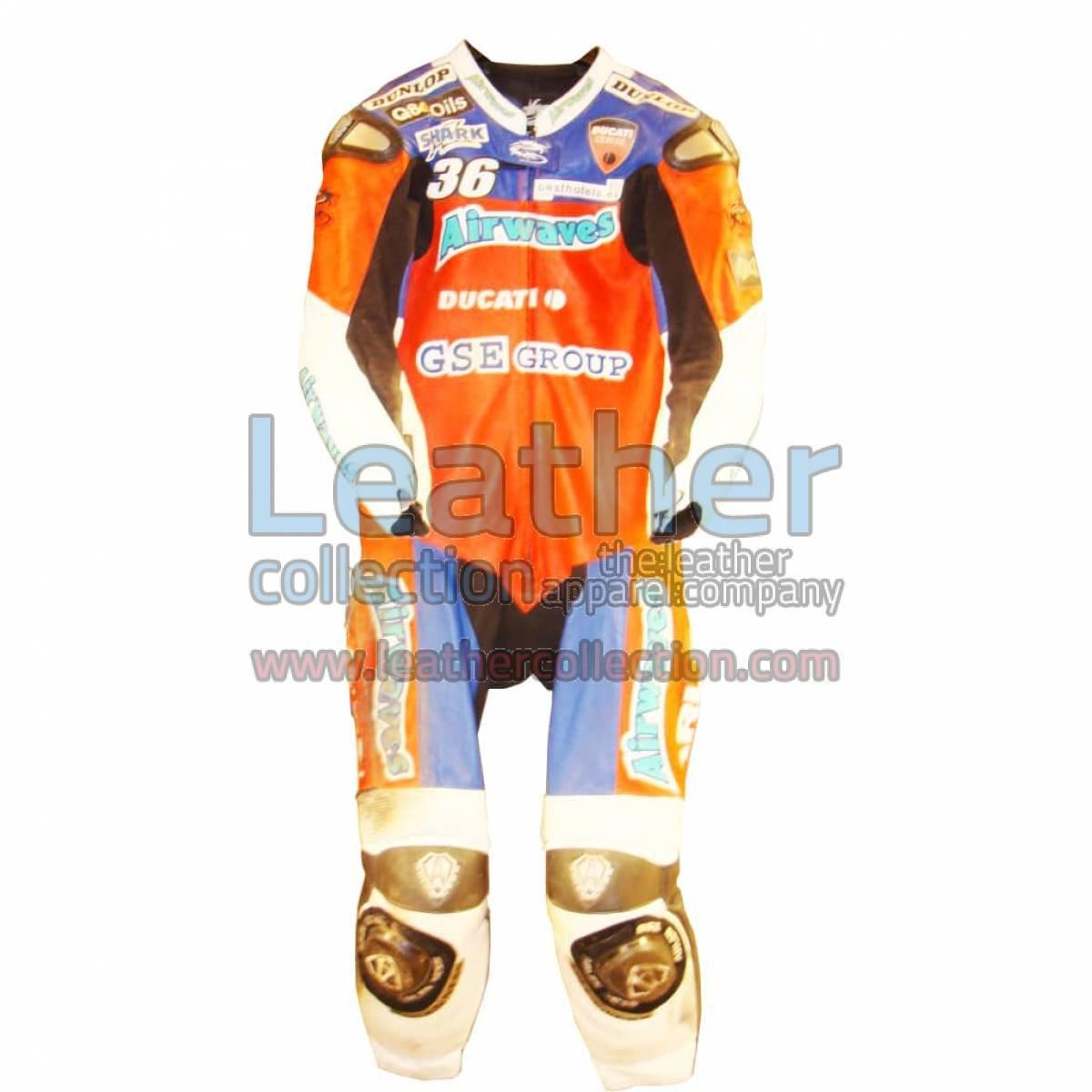 Gregorio Lavilla Ducati BSB 2005 Race Suit