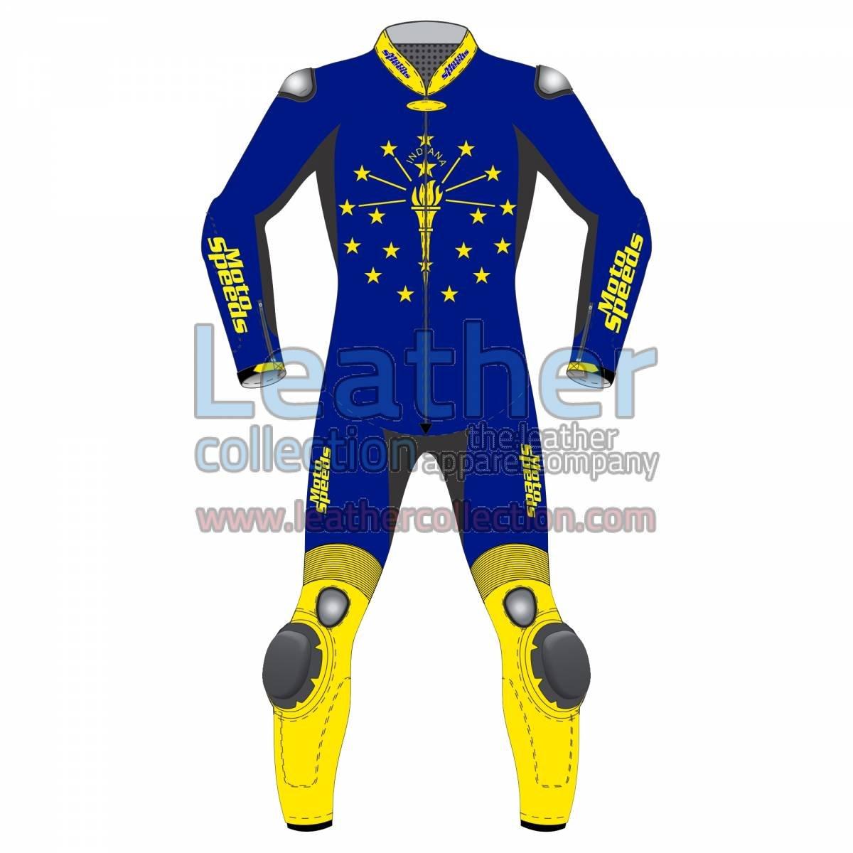 Indiana Flag Motorbike Racing Suit