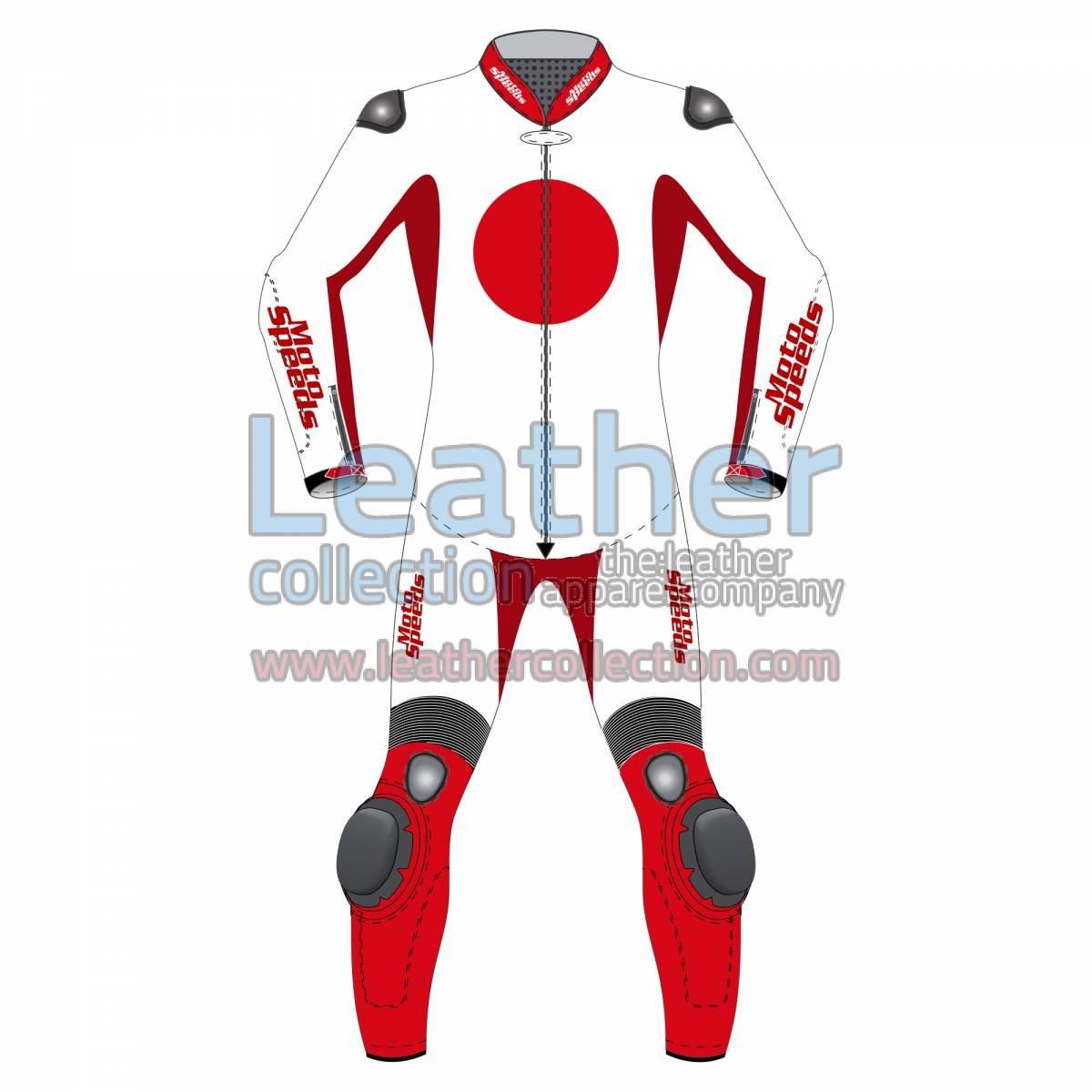 Japan Flag Motorbike Suit