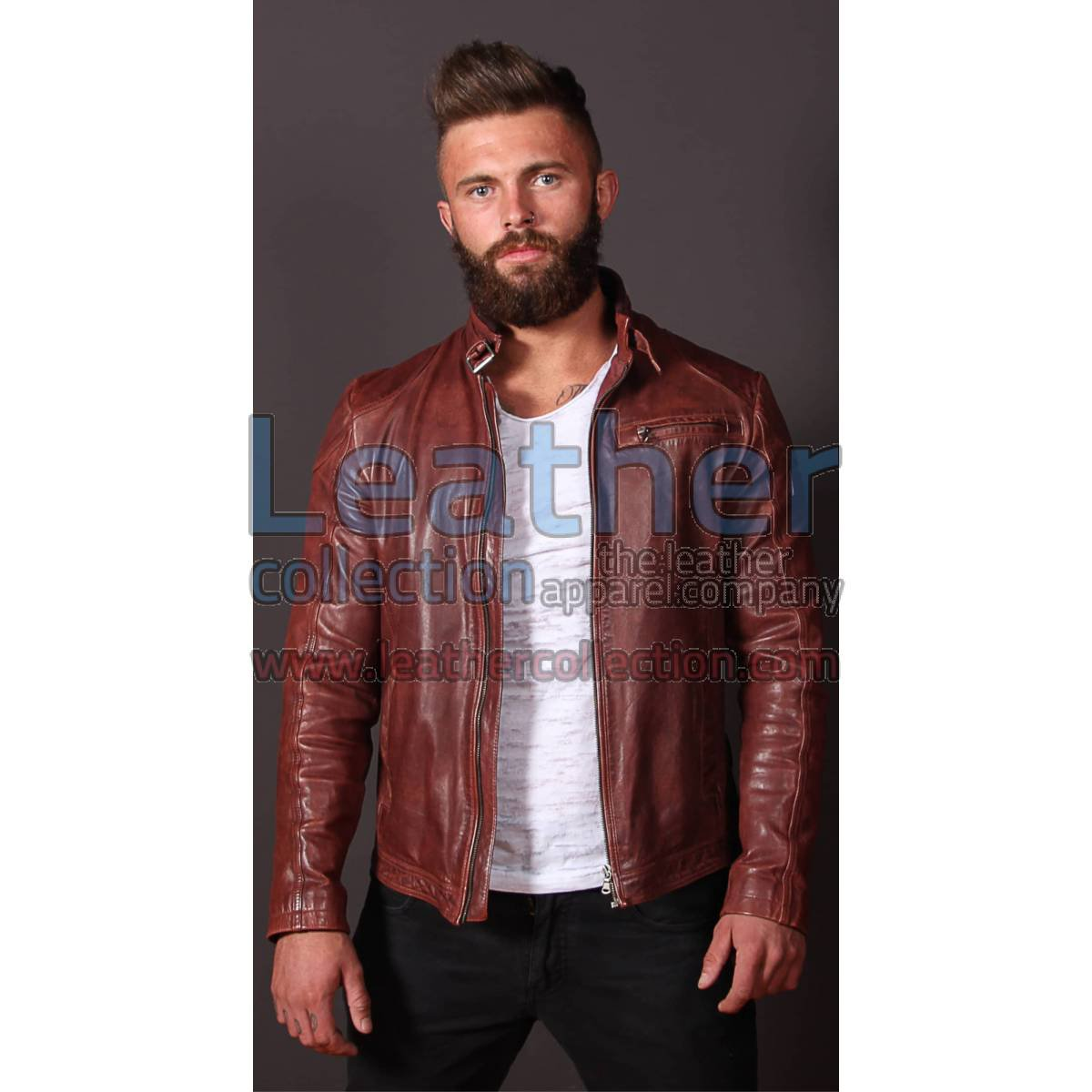 Jazz Leather Jacket For Men