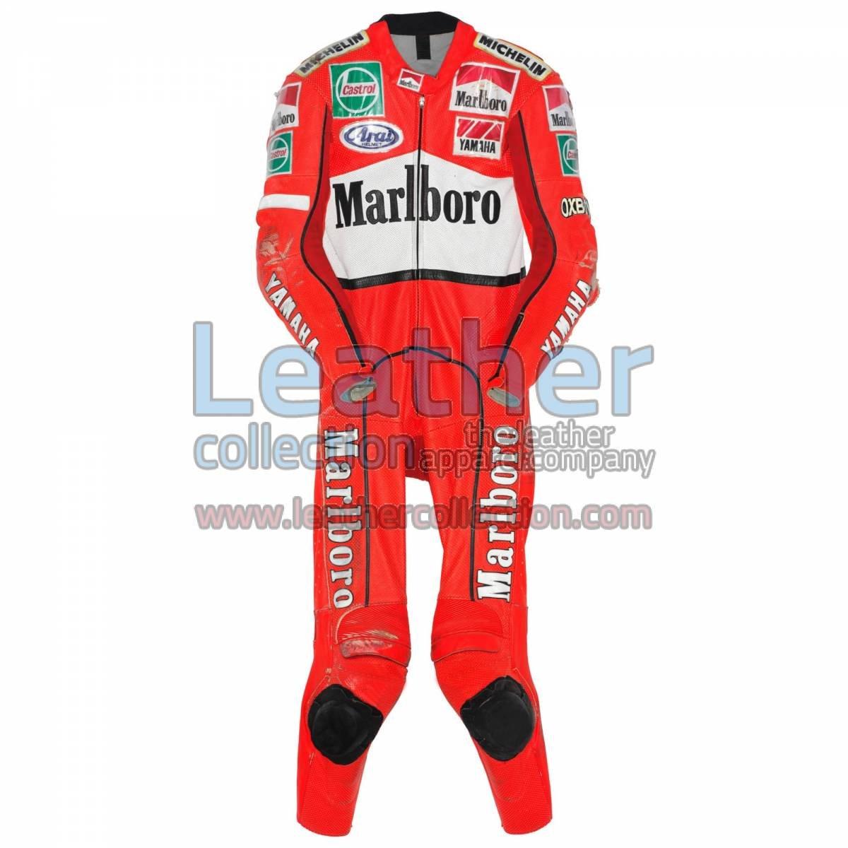 Jean Michel Bayle Marlboro Yamaha GP 1996 Suit