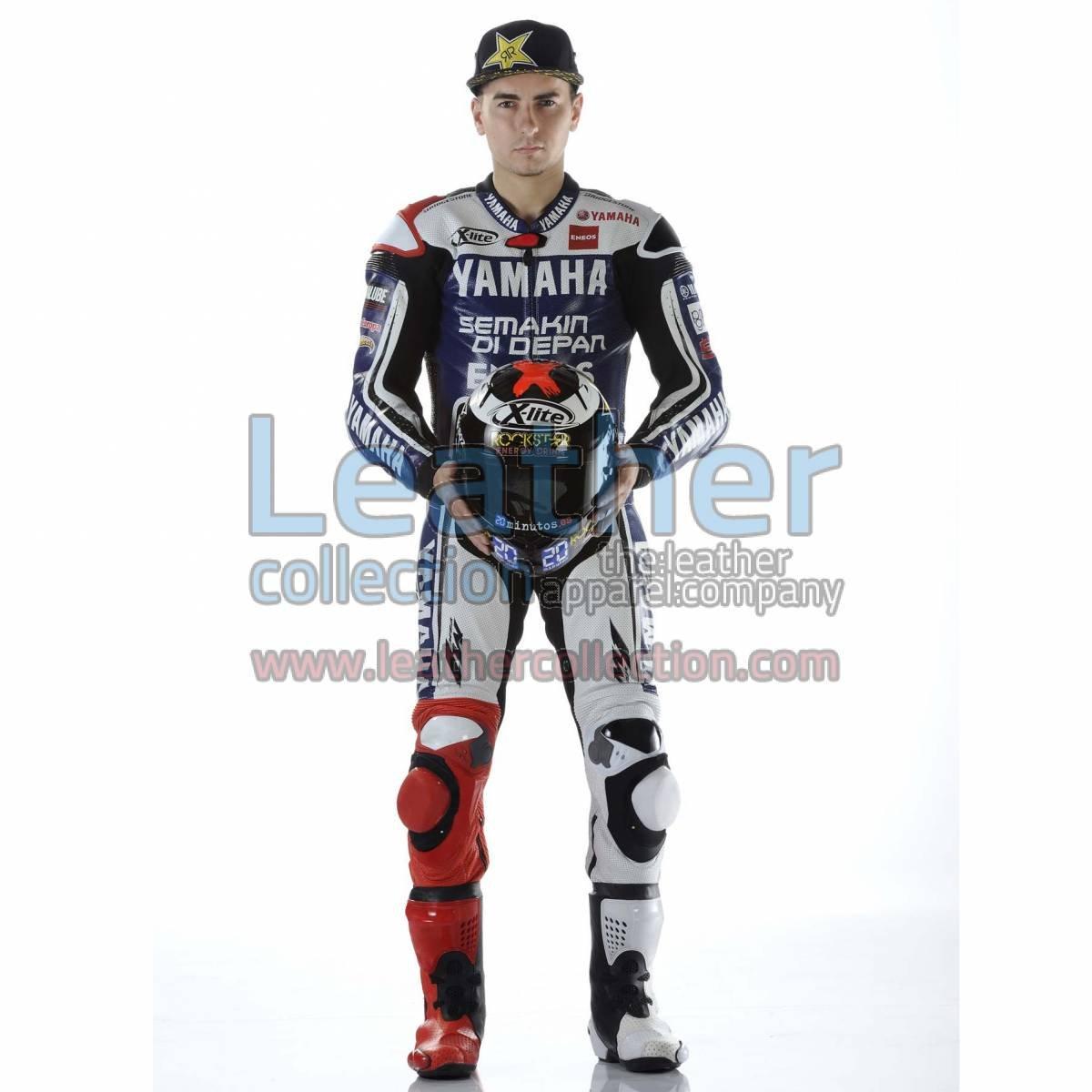 Jorge Lorenzo Yamaha 2012 MotoGP Biker Suit
