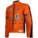 Kill Bill Movie Womens Orange Leather Jacket