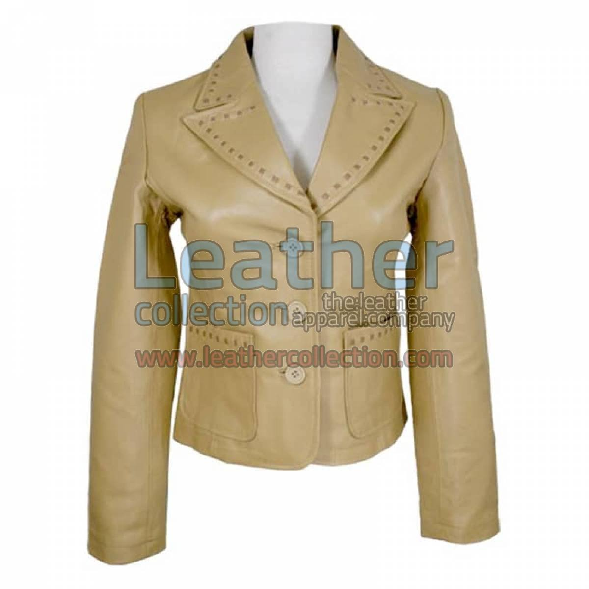Ladies Fashion Camel Colored Coat