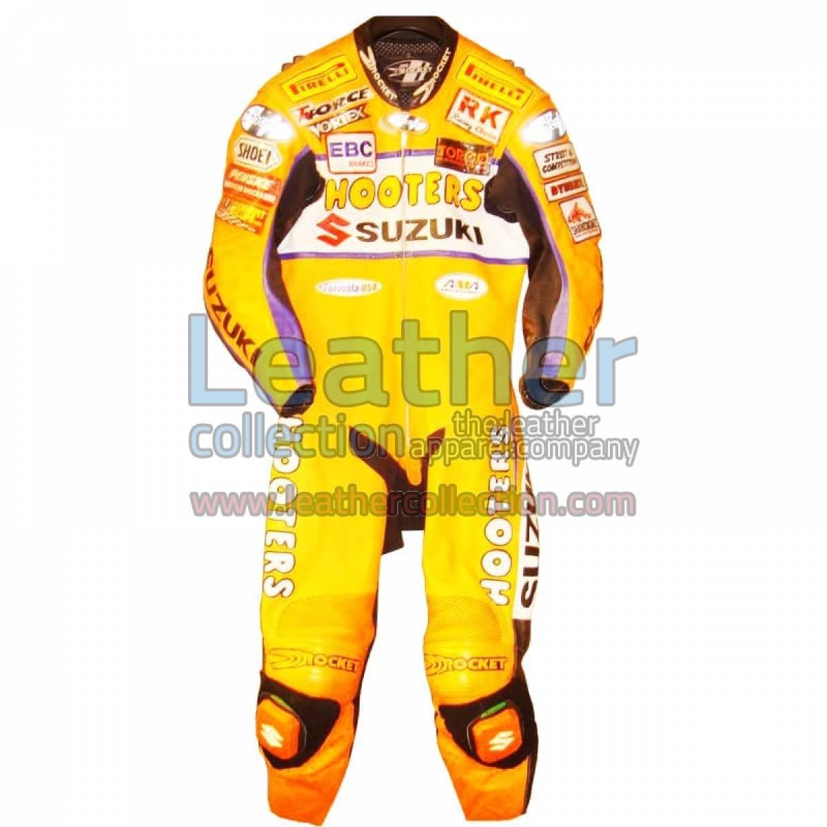 Larry Pegram Suzuki AMA Motorcycle Leathers