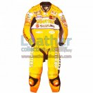 Larry Pegram Suzuki AMA Motorcycle Leathers