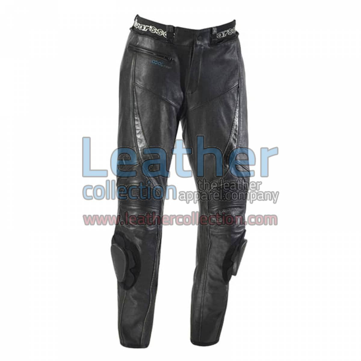 Leather Cool Motorcycle Pants