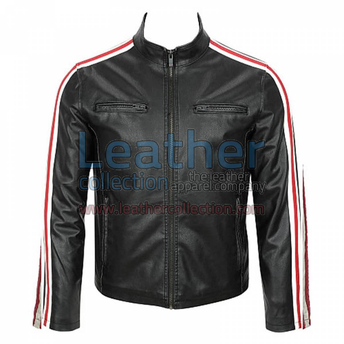 Leather Motorcycle Fashion Jacket