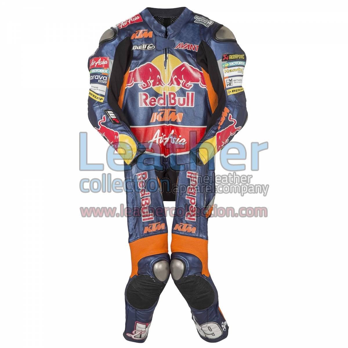 Luis Salom KTM 2013 Leather Suit