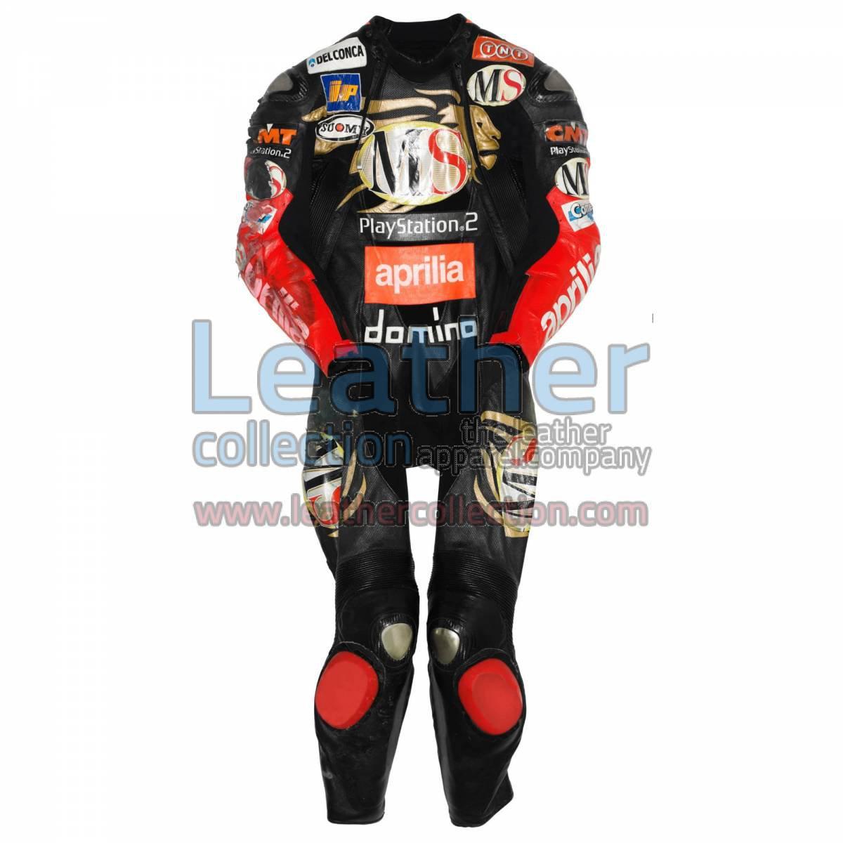 Manuel Poggiali Aprilia GP 2003 Leather Suit