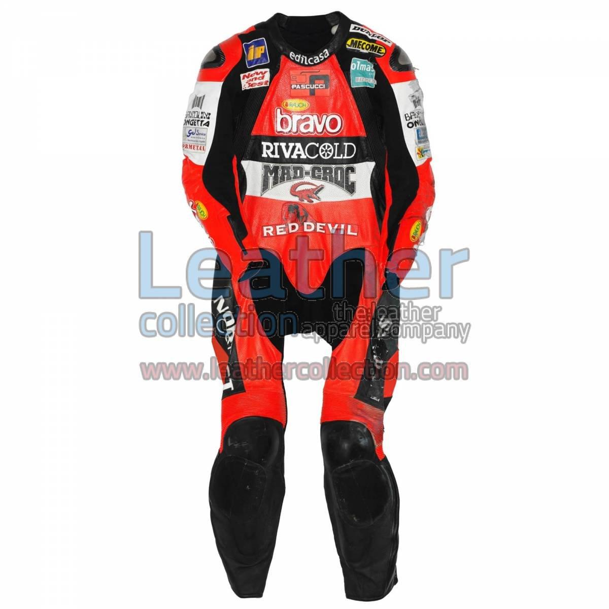 Marco Simoncelli Aprilia GP 2004 Leathers