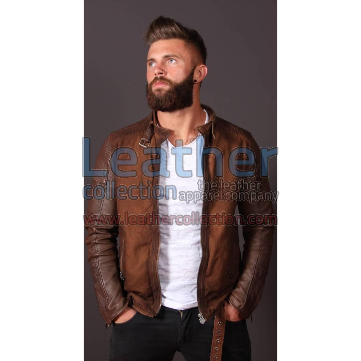 Men Fashion Urban LeatherJacket