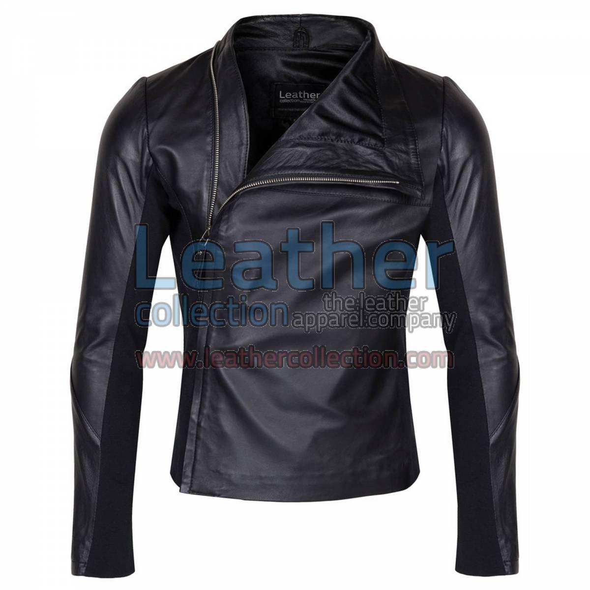 Mens Slim & Smart Leather Jacket