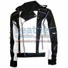 Michael Jackson Pepsi Black & White Leather Jacket