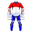 Netherlands Rounded Flag Leather Moto Suit