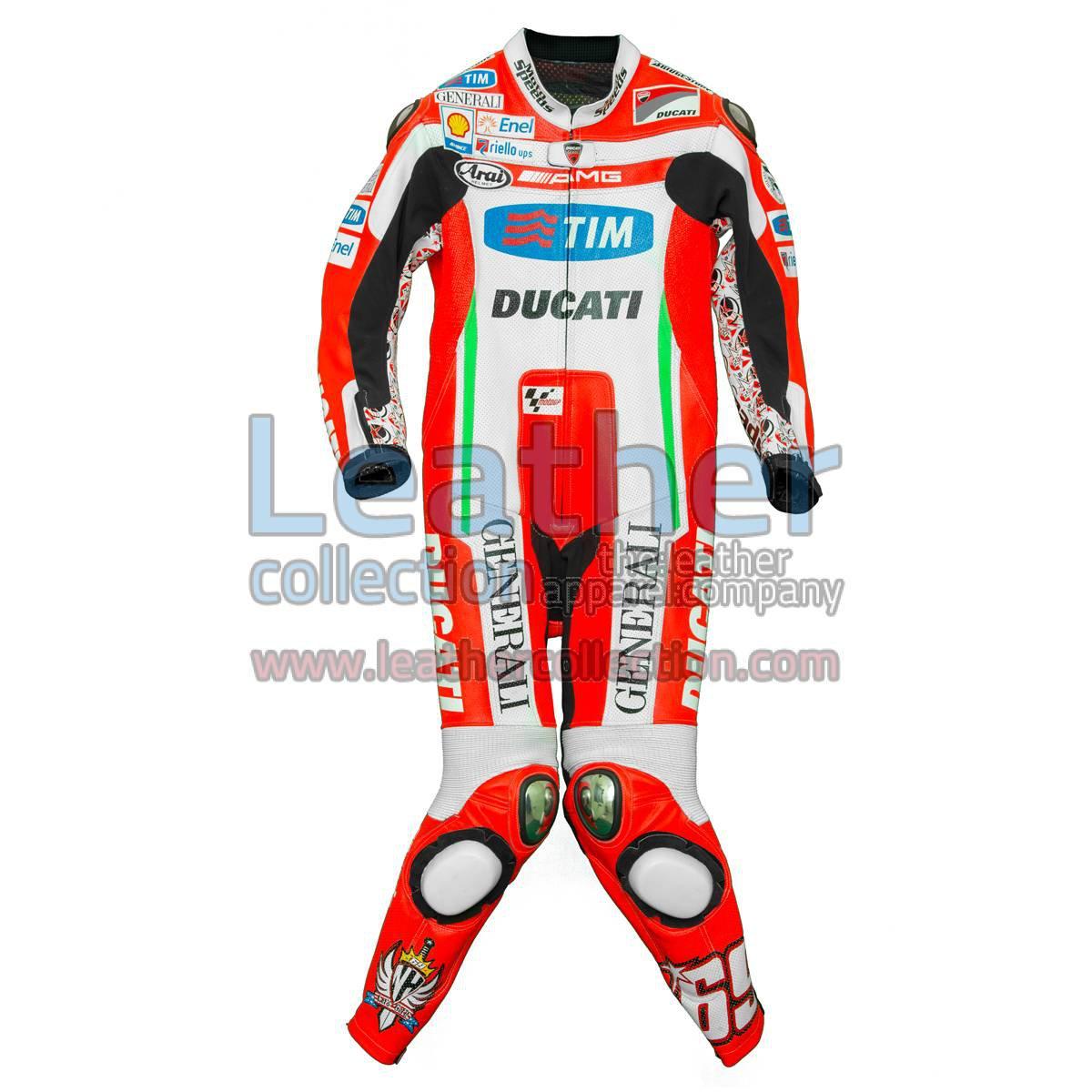 Nicky Hayden 2012 MotoGP Race Leathers