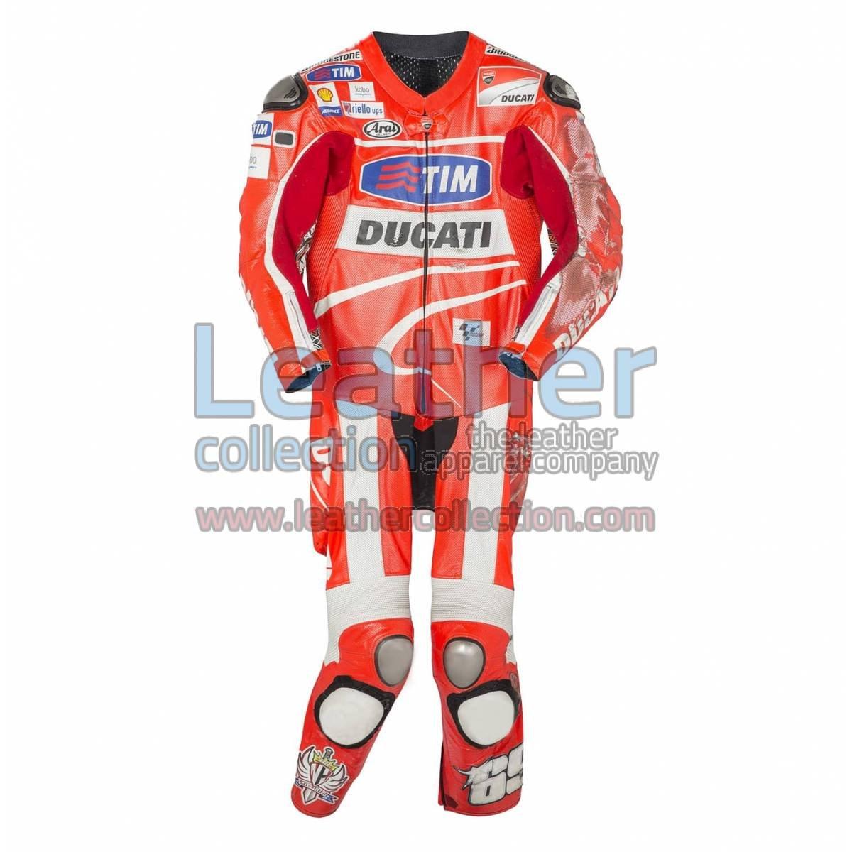 Nicky Hayden 2013 MotoGP Race Leathers