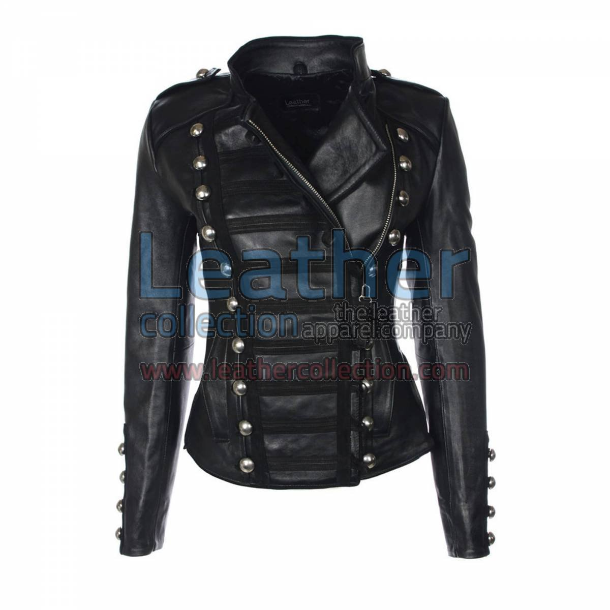 Princess Leather Jacket Black