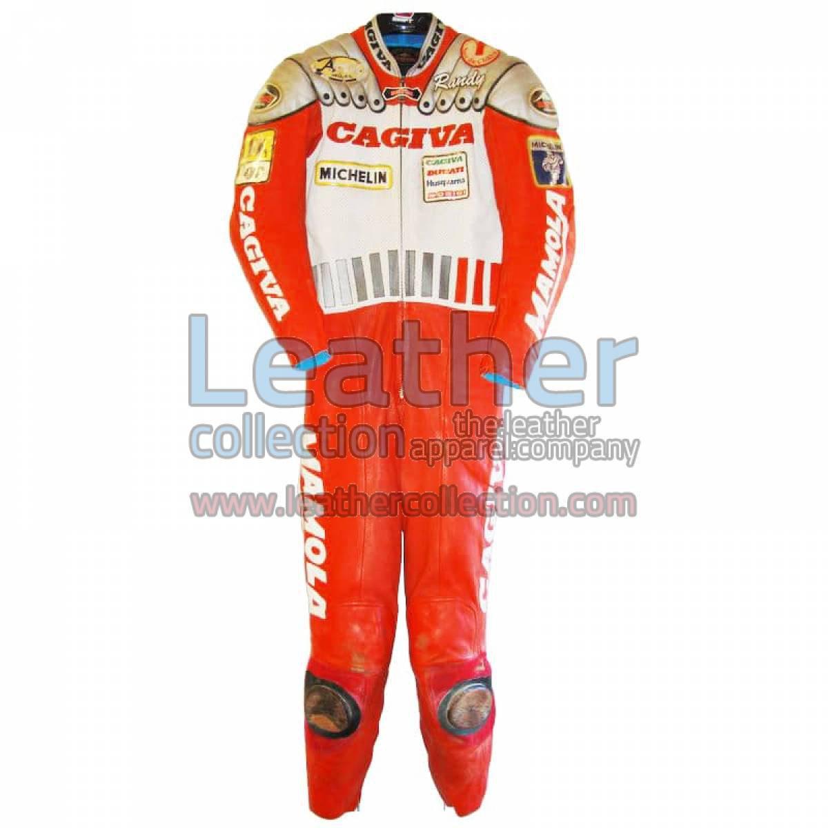 Randy Mamola Cagiva GP 1989 Replica Suit