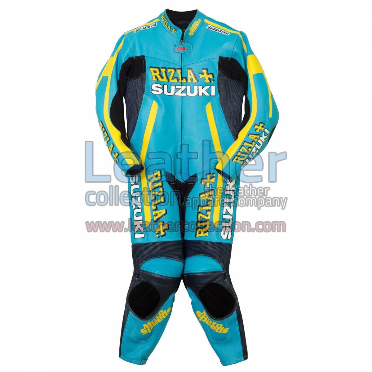 Rizla Suzuki Motorbike Race Leather Suit