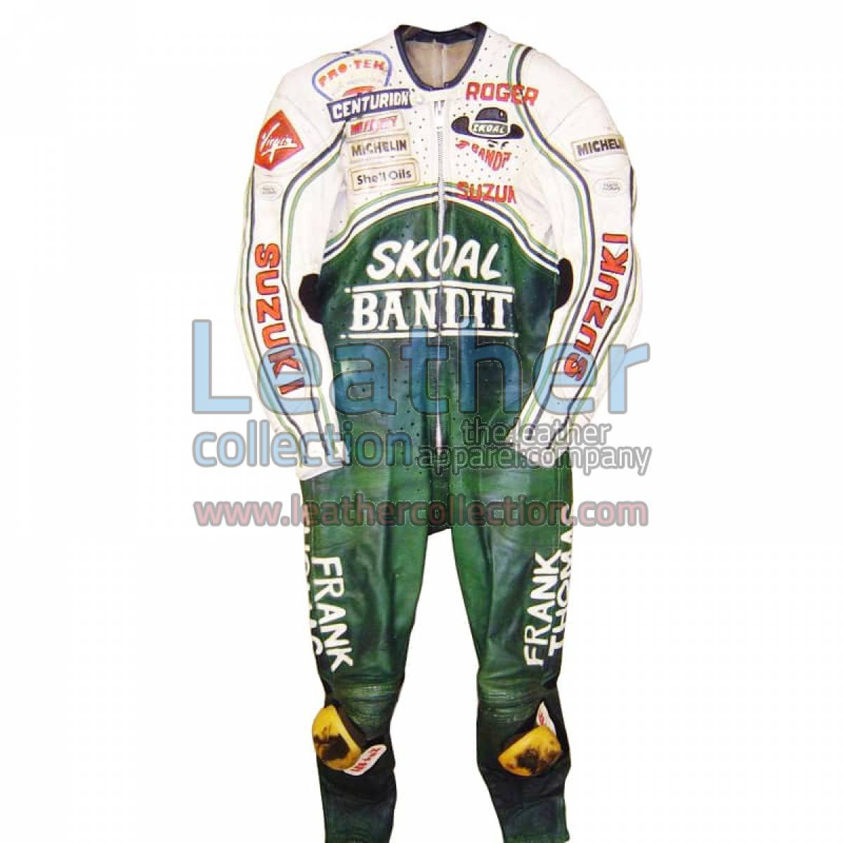 Roger Marshall Suzuki GP 1987 Leather Suit