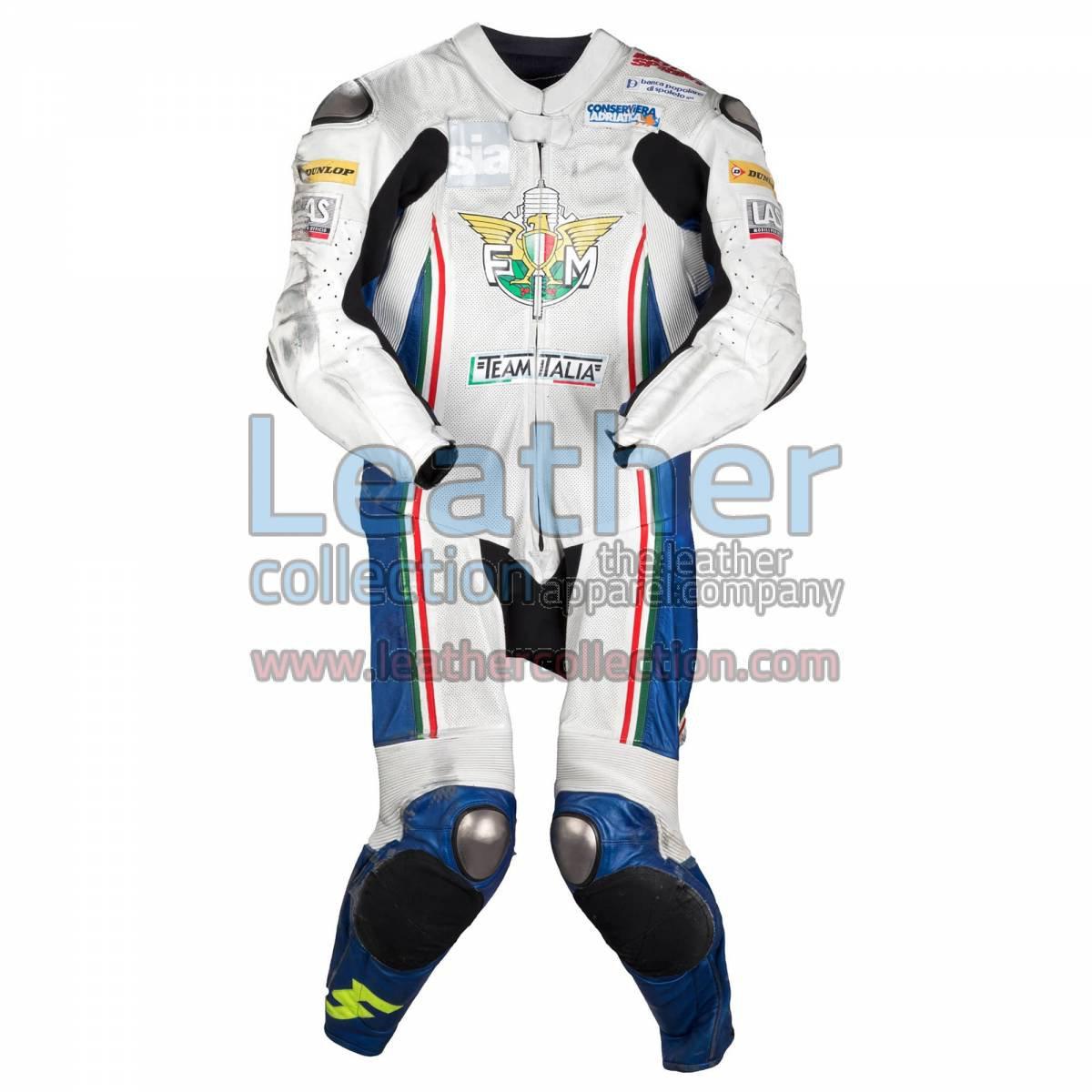 Romano Fenati FIM 2012 Motorcycle Leathers