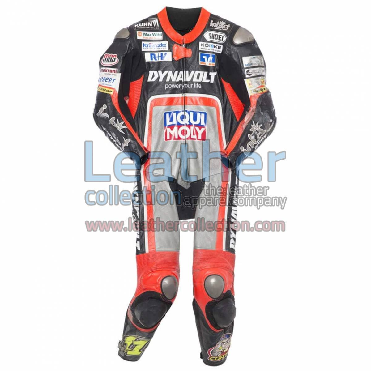Sandro Cortese 2014 Moto2 Motorbike Leather Suit