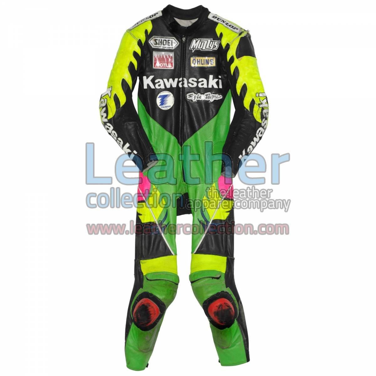 Scott Russell Kawasaki GP 1993 Leather Suit