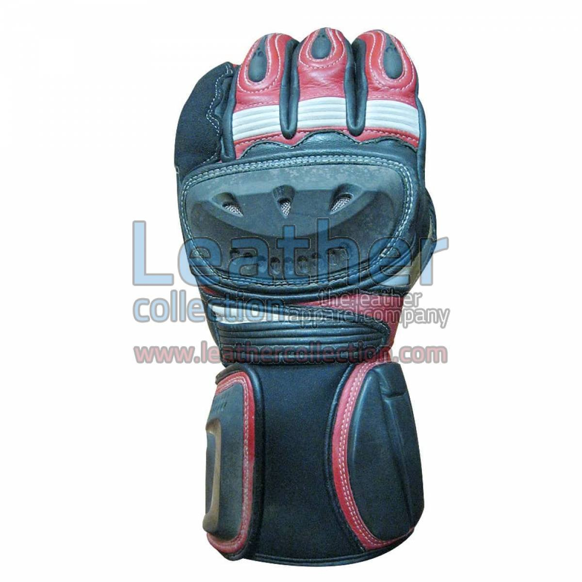 Shadow Motorbike Leather Gloves
