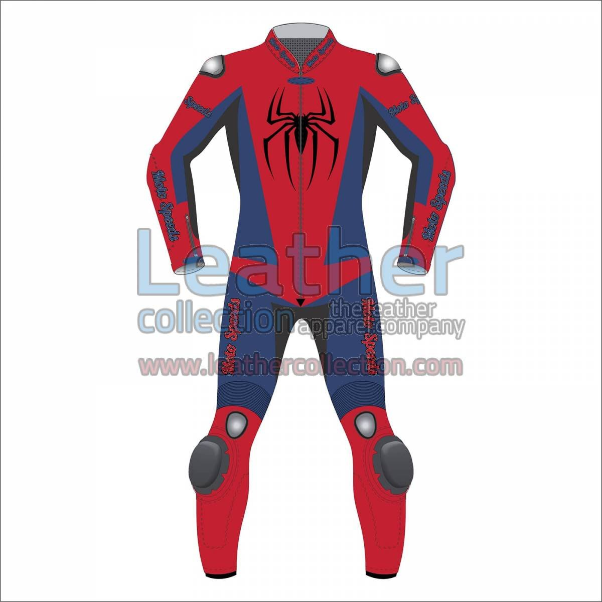 Spiderman Leather Race Suit