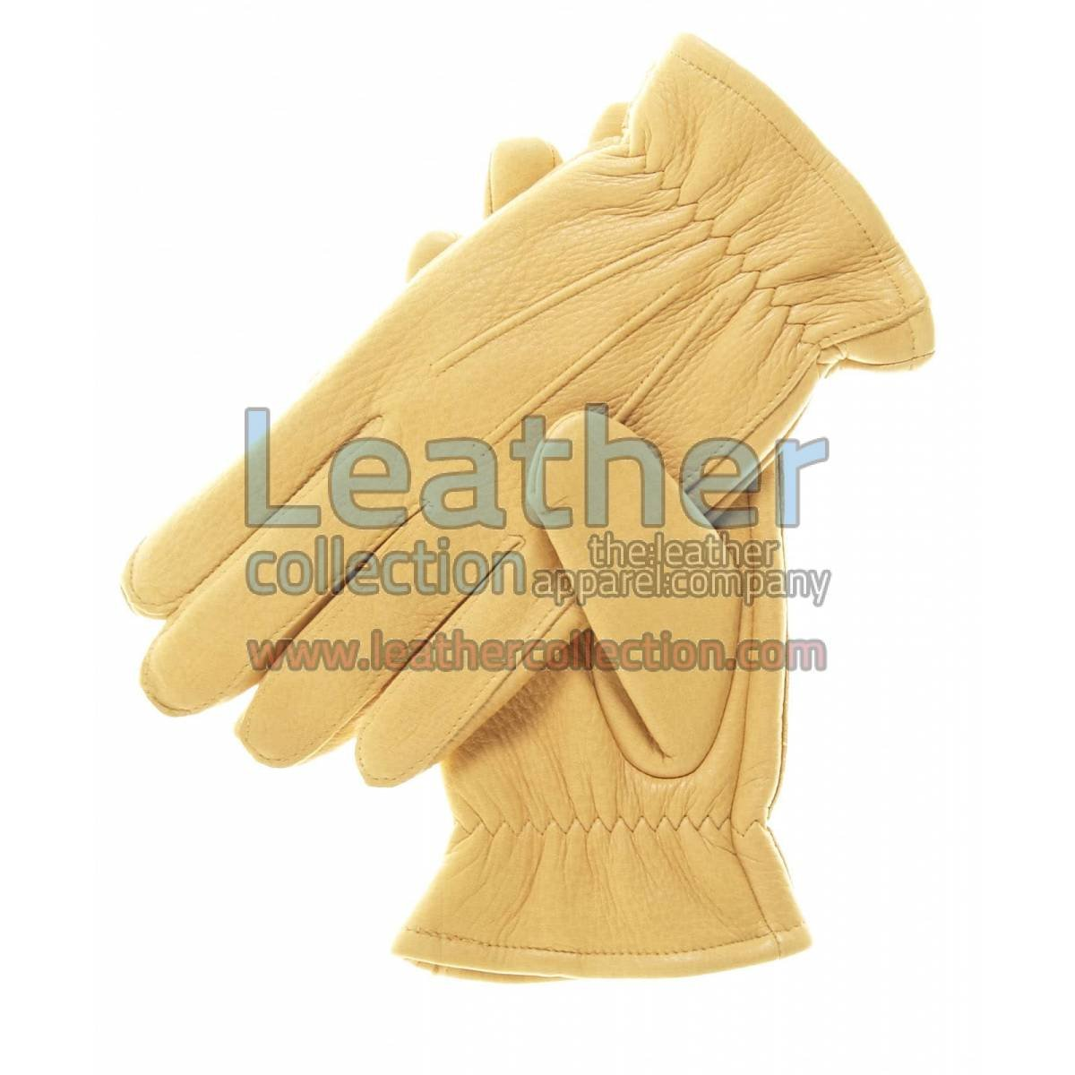 Tan Winter Thinsulate Lined Gloves