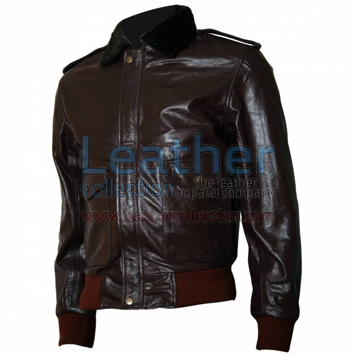 The Thing R. J. MacReady Brown Leather Jacket