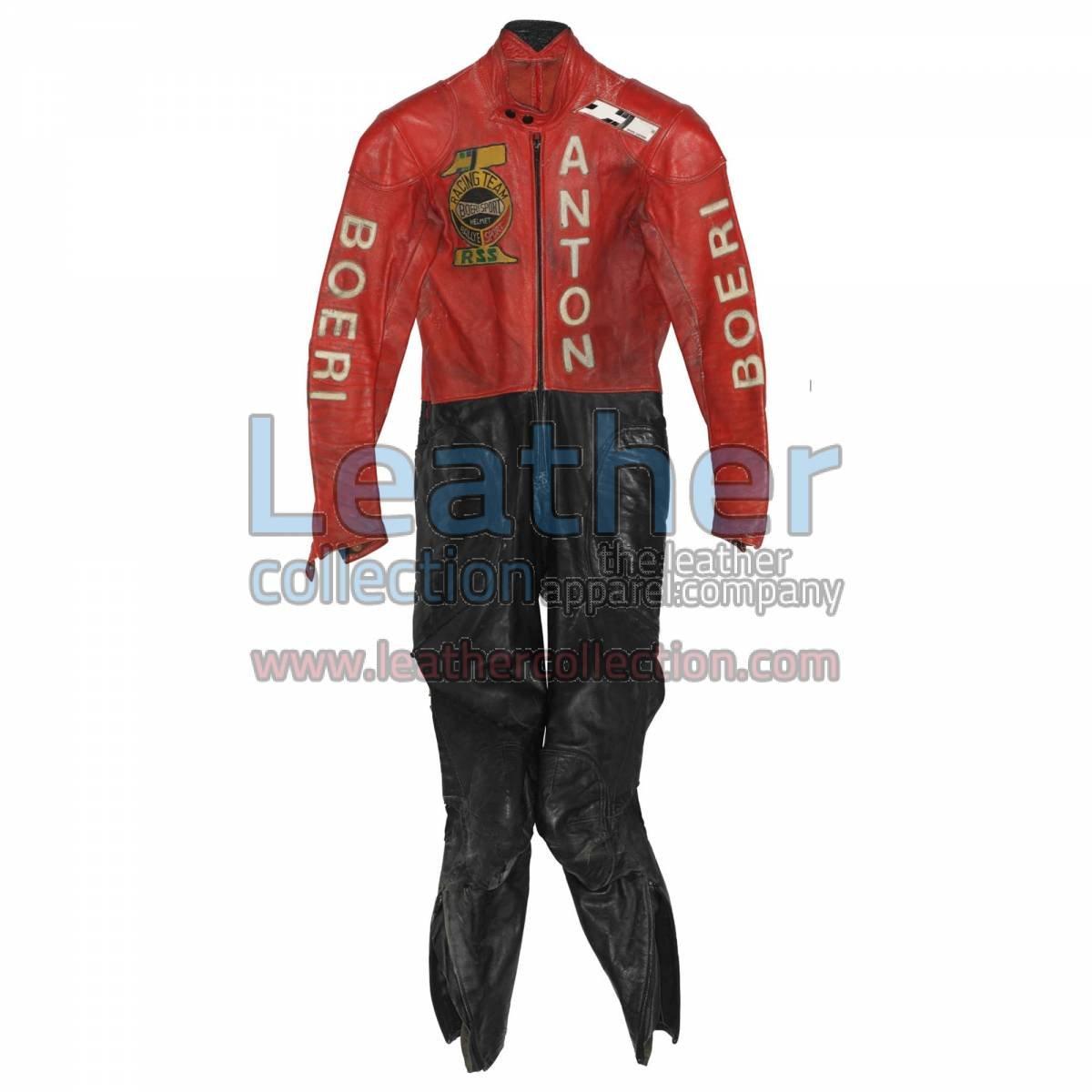 Toni Mang Kawasaki GP 1980 Racing Suit