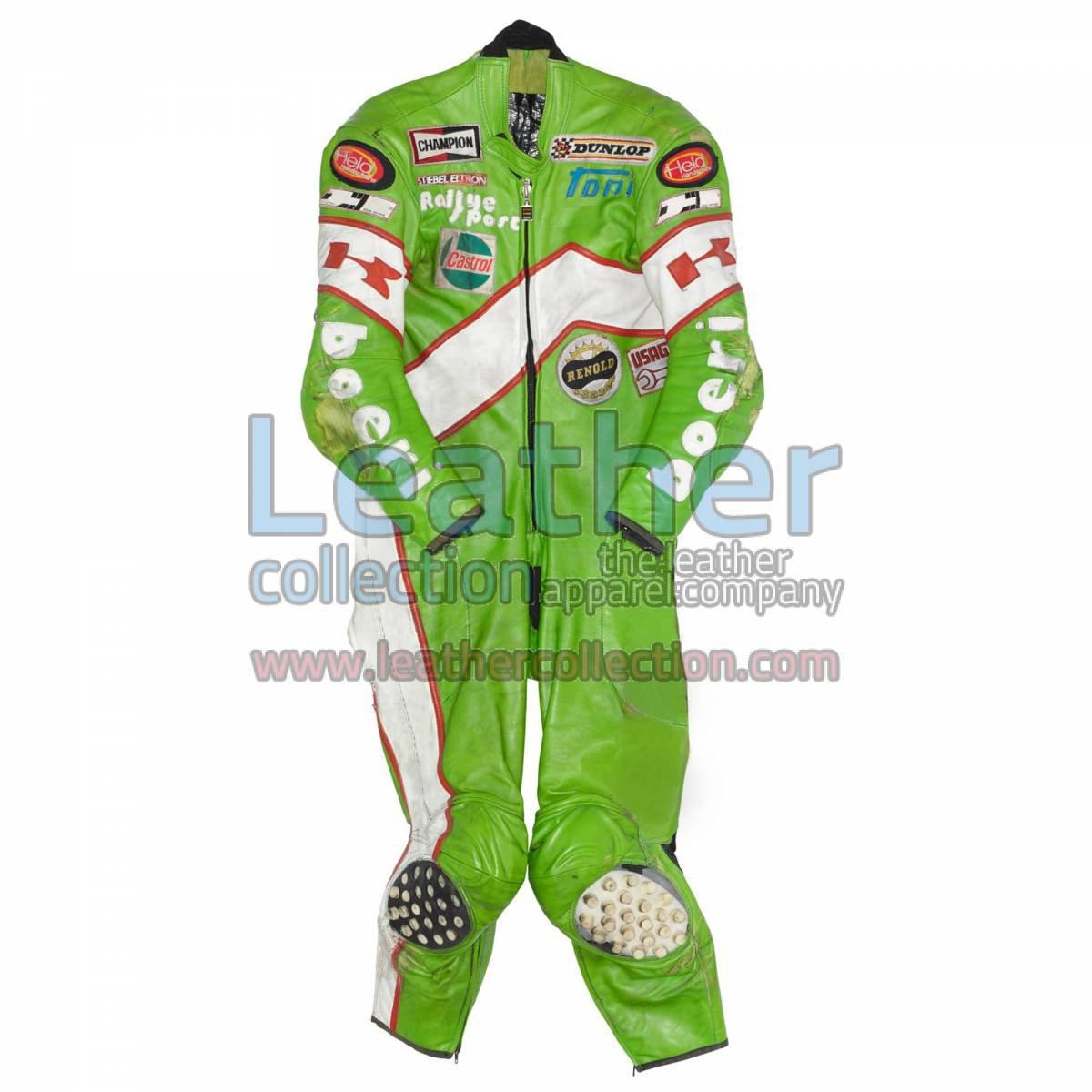 Toni Mang Kawasaki GP 1981 Leathers