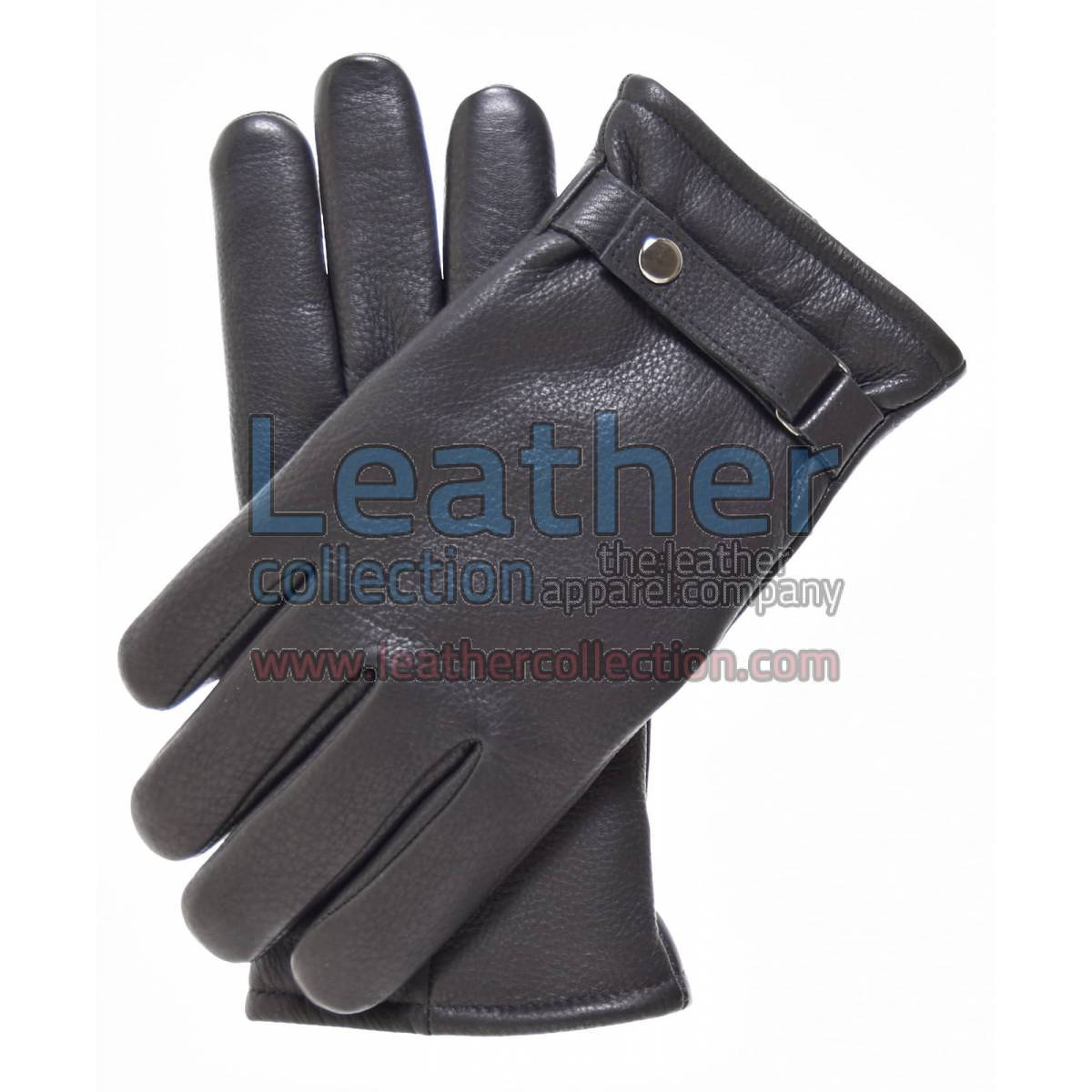Tough Leather Gloves Brown With Thinsulate Lining