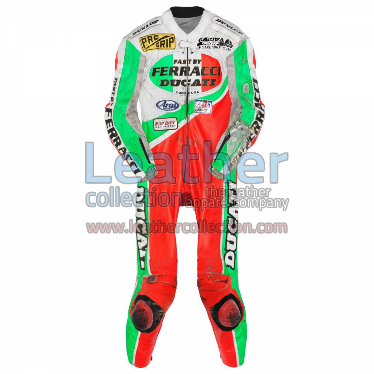 Troy Corser Ducati AMA 1994 Leather Suit