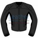 Uni Color Motorbike Leather Jacket For Women