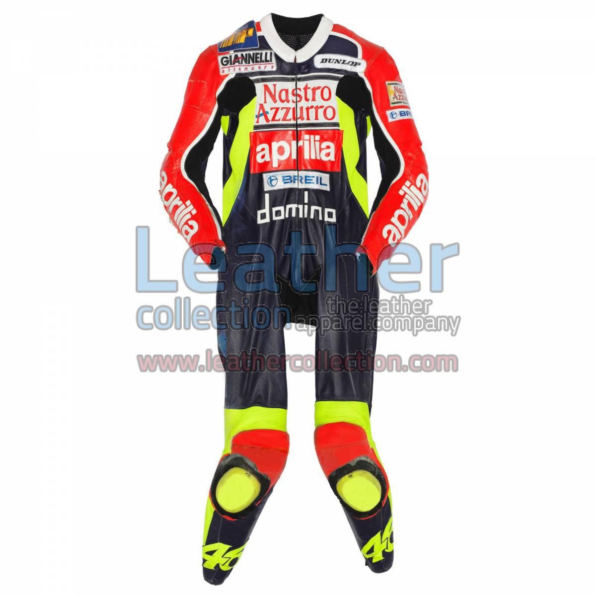 Valentino Rossi Aprilia GP 1998 Leather Suit