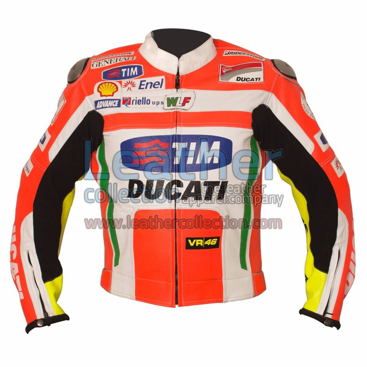 Valentino Rossi Ducati Corse Leather Jacket