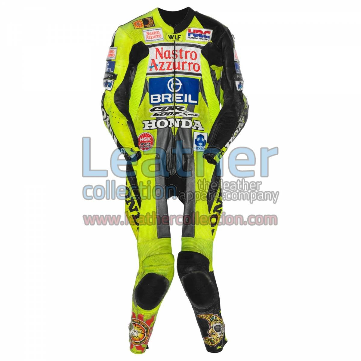 Valentino Rossi Honda CBR 600 GP 2000 Leather Suit