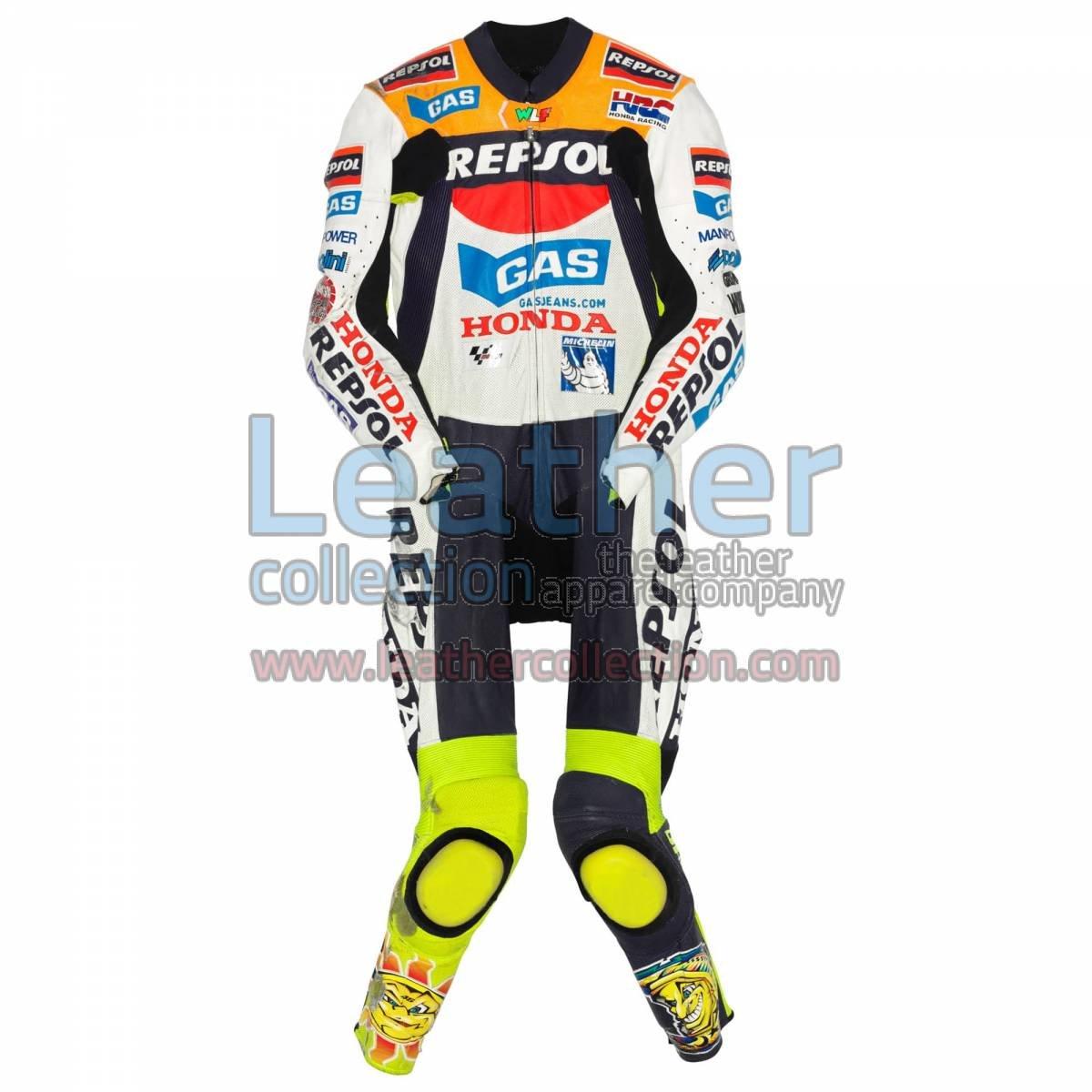 Valentino Rossi Honda MotoGP 2002 Leather Suit