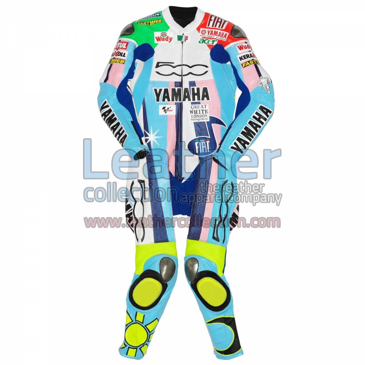 Valentino Rossi Yamaha Fiat 500 MotoGP 2007 Suit