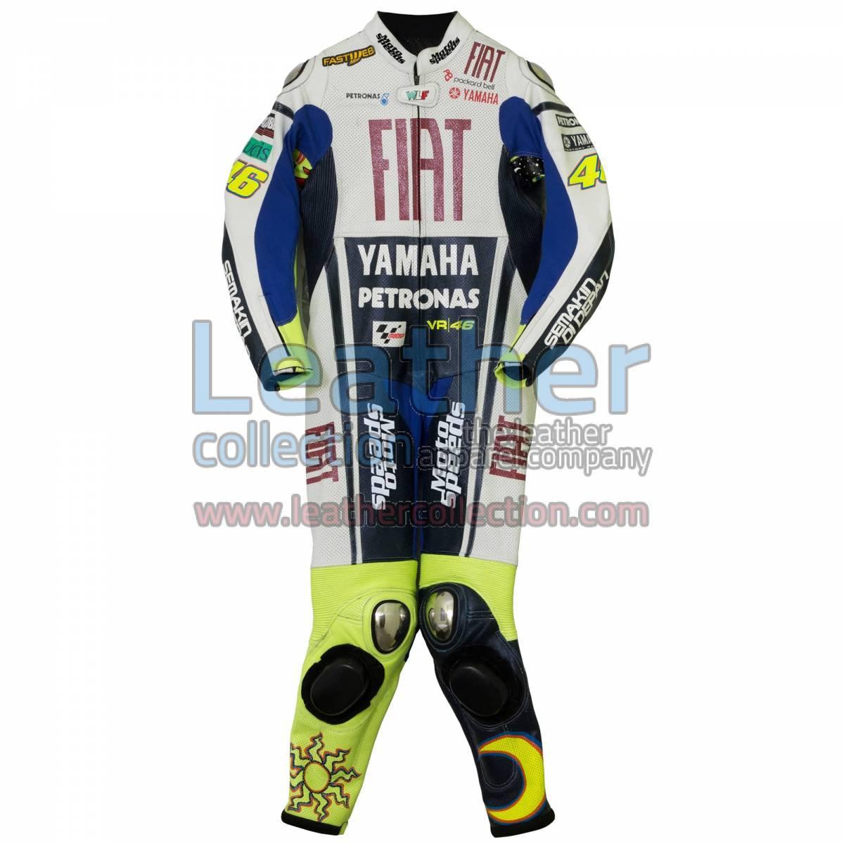 Valentino Rossi Yamaha Fiat MotoGP 2010 Race Suit